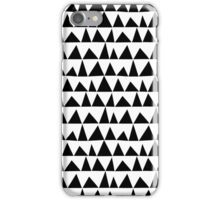 Playful triangles iPhone Case/Skin