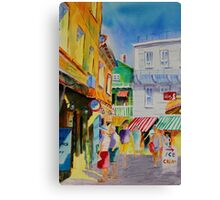 Summer Days - On Vacation Canvas Print