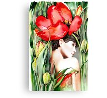 """The Tulip""  Canvas Print"
