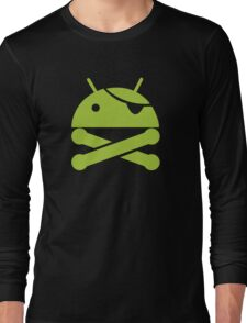 Android Pirate Long Sleeve T-Shirt