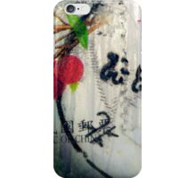 Chinese Stamp Triptych 02 iPhone Case/Skin