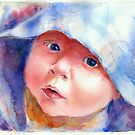 Innocence - Child Portrait by Yevgenia Watts
