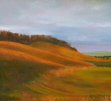 Tennessee Hillsides: Light's Last Caress by DonnaKazo