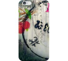 Chinese Stamp Poster iPhone Case/Skin