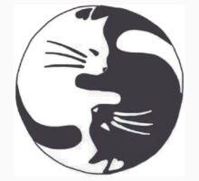 Yin Yang Cats by phantastique