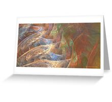 On Angels Wings Greeting Card