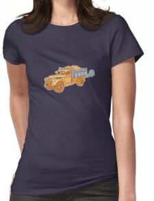 Truck Stop Womens Fitted T-Shirt