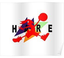 Hare Jordan Poster