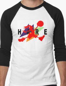 Hare Jordan Men's Baseball ¾ T-Shirt
