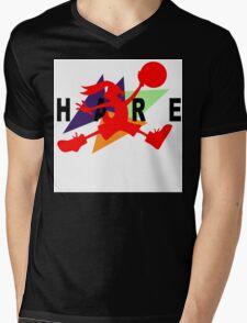 Hare Jordan Mens V-Neck T-Shirt