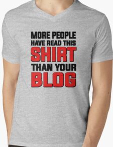 More people have read this shirt than your blog T-Shirt