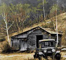 Old Truck - Coldbrook, N.H. by T.J. Martin