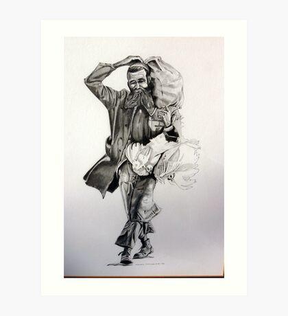 Jewish man  Art Print