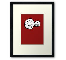Twin Peaks - The Arm - Let's Rock! Framed Print