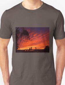 Christmas Eve Sunset Unisex T-Shirt