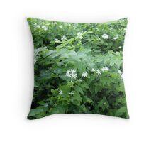 Jasmine Sea Throw Pillow