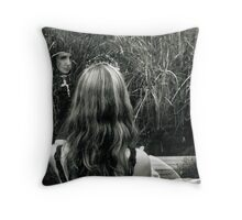 Who Is The Fairest Throw Pillow