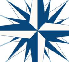 wind compass Sticker