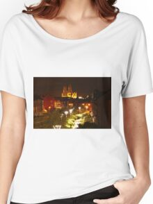 beverley minster at night Women's Relaxed Fit T-Shirt
