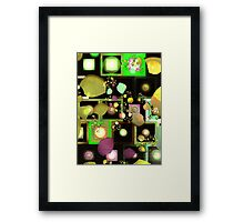 Fragments of Thought Framed Print