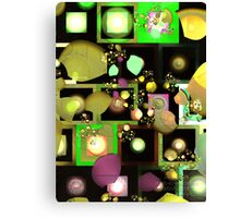 Fragments of Thought Canvas Print