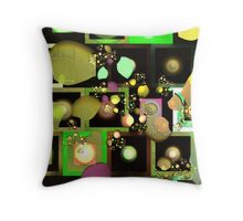 Fragments of Thought Throw Pillow