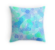 Kaleidoscoops II Throw Pillow