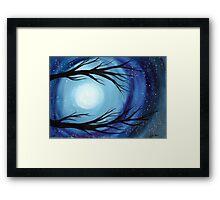 Mystic Moon Framed Print