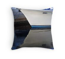 Blue Reflection Throw Pillow