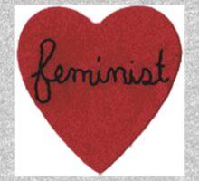 Feminist Heart Kids Clothes