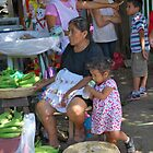 Market families  by Tracey Hampton
