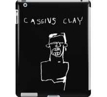 Cassius Clay WHT iPad Case/Skin