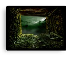 The Old Shelter Canvas Print