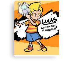 Lucas Confirmed Canvas Print