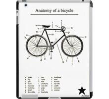 Anatomy Of A Bike! iPad Case/Skin
