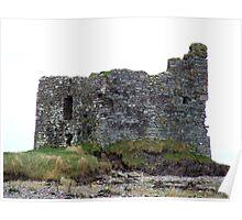Ballinskelligs Castle, Kerry, Ireland Poster