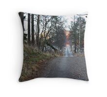 Robert Mauritz Lane Throw Pillow