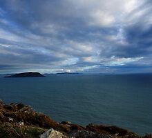 Sky, Ocean, Islands - Kerry, Ireland by CFoley