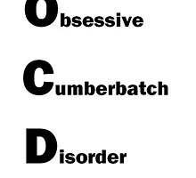 OCD for Sherlock by destinochavez