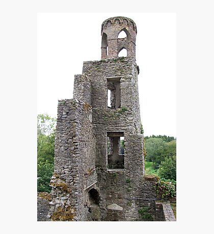 Blarney Castle Tower Photographic Print