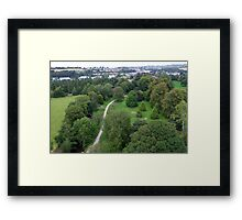 Blarney Castle Grounds & Blarney Town, Cork, Ireland Framed Print