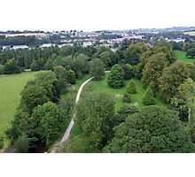 Blarney Castle Grounds & Blarney Town, Cork, Ireland Photographic Print