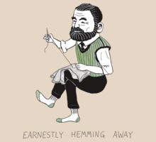 """Earnestly Hemming Away"" by Landis Blair"