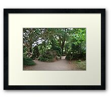 Witch's Kitchen Rear View, Blarney, Cork, Ireland Framed Print