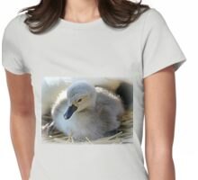 A Puff Of Fluff Womens Fitted T-Shirt