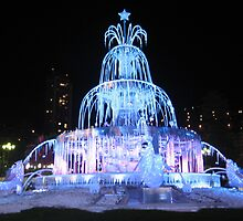 The Fountain in Monte Carlo by Cawritergirl