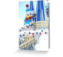 Donald Duck Greeting Card
