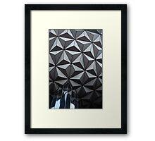 Epcot Sphere Framed Print
