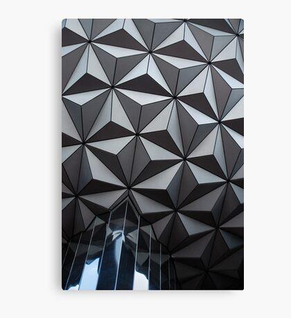 Epcot Sphere Canvas Print
