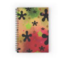Neon Flowers Spiral Notebook